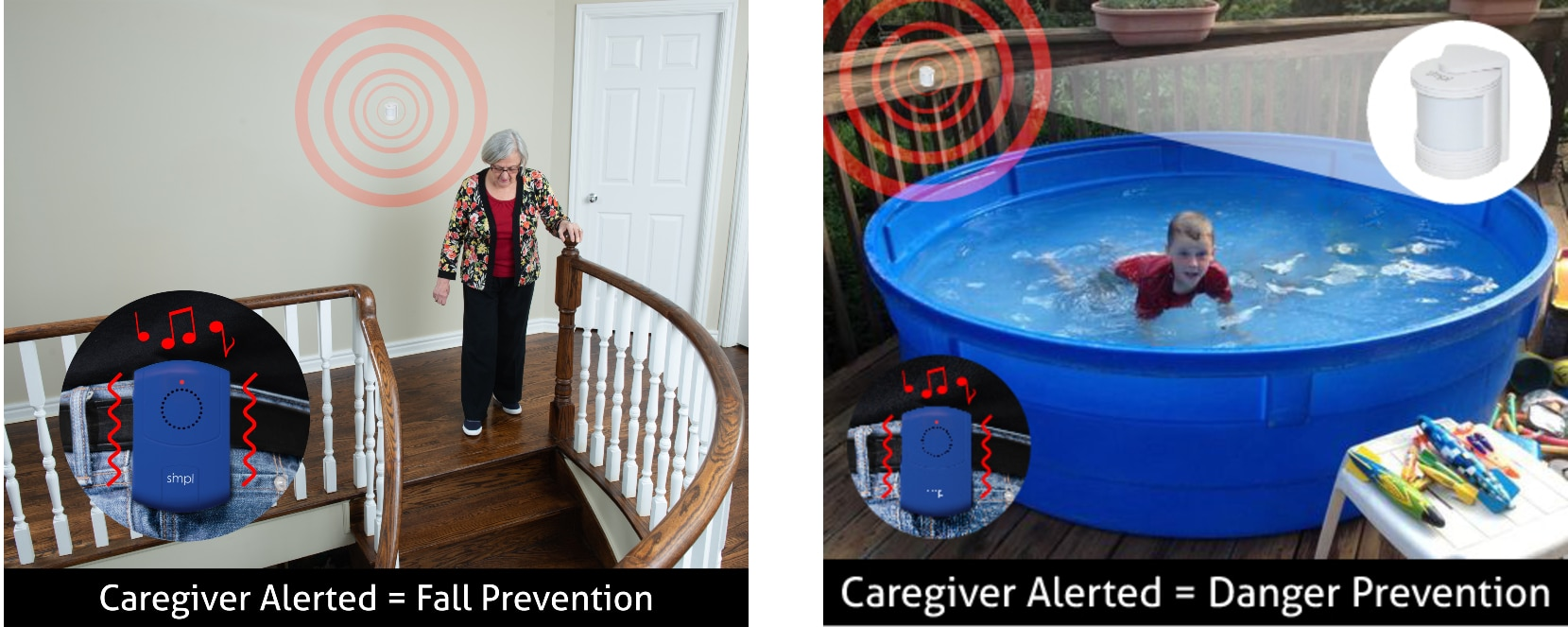 Hallway Monitoring - Bathroom Fall Prevention