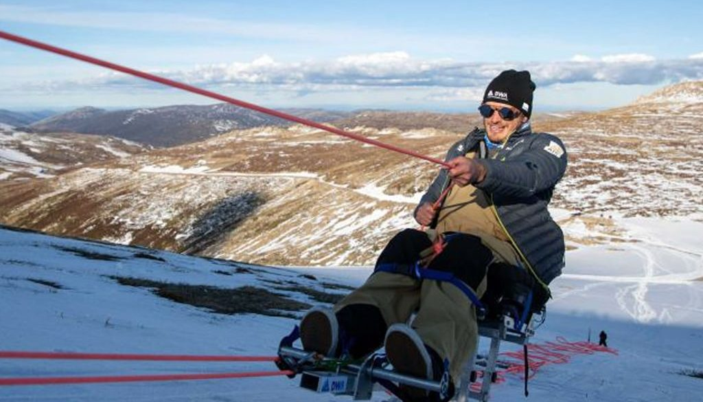 Paralympian First Paraplegic to Climb Australia smpltec
