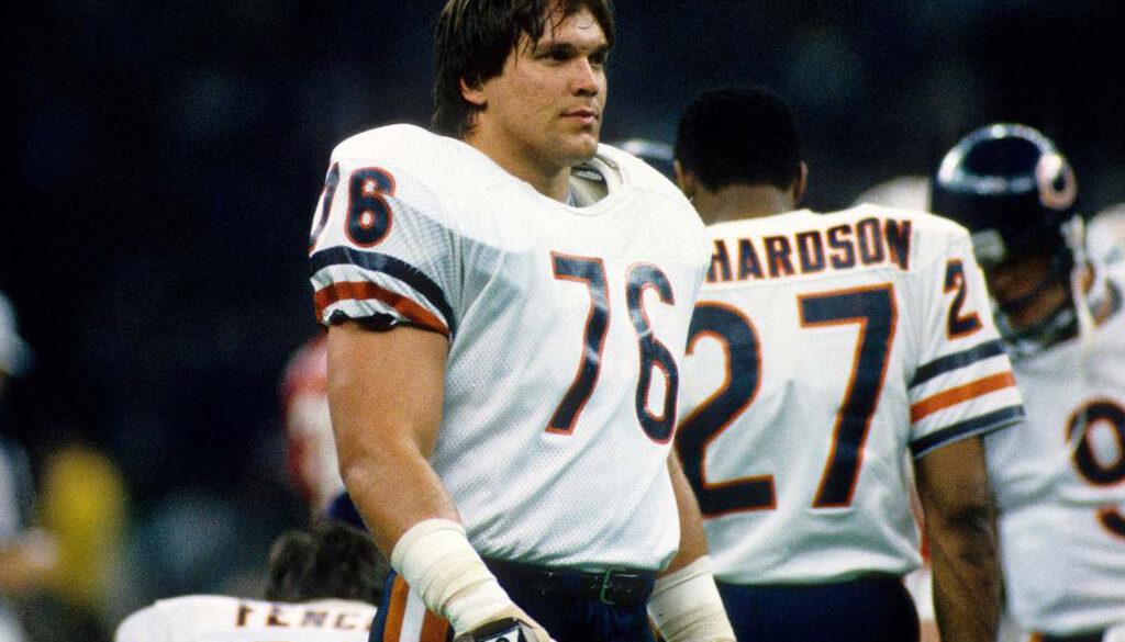 Chicago Bears Steve Mongo McMichael