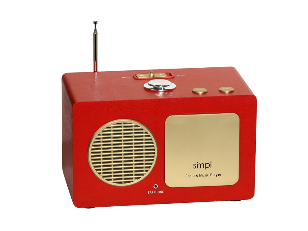 Father Day Gift Ideas for Seniors-radio music player-smpl